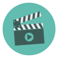 PSA Video Contest Button Of A Clapperboard