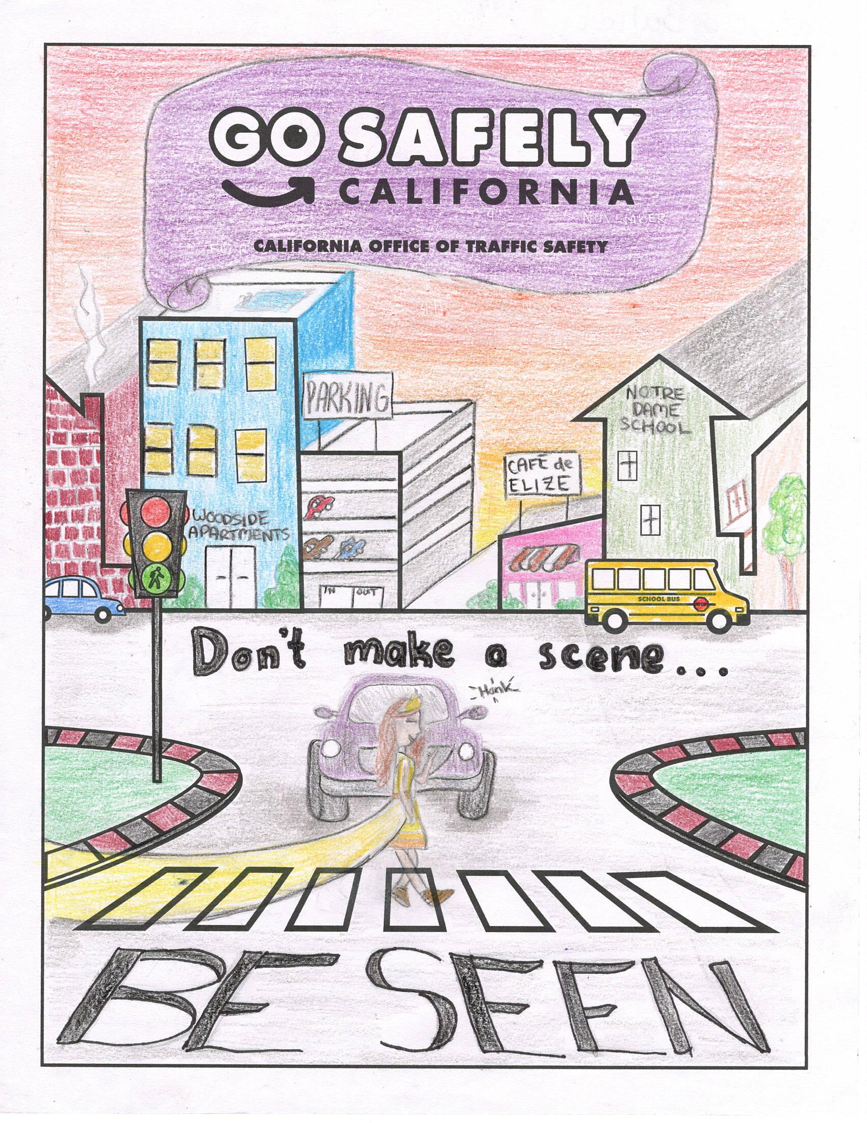 don t make a scene be seen