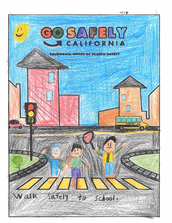 walk safely to school