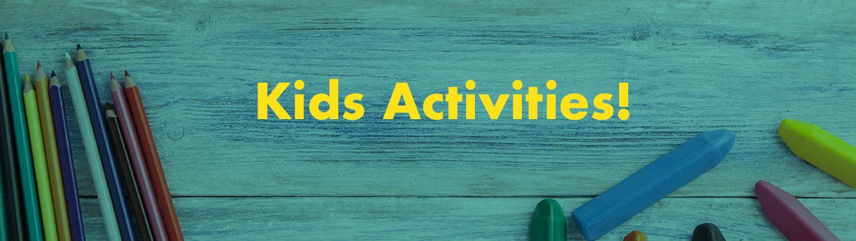Kids activities header