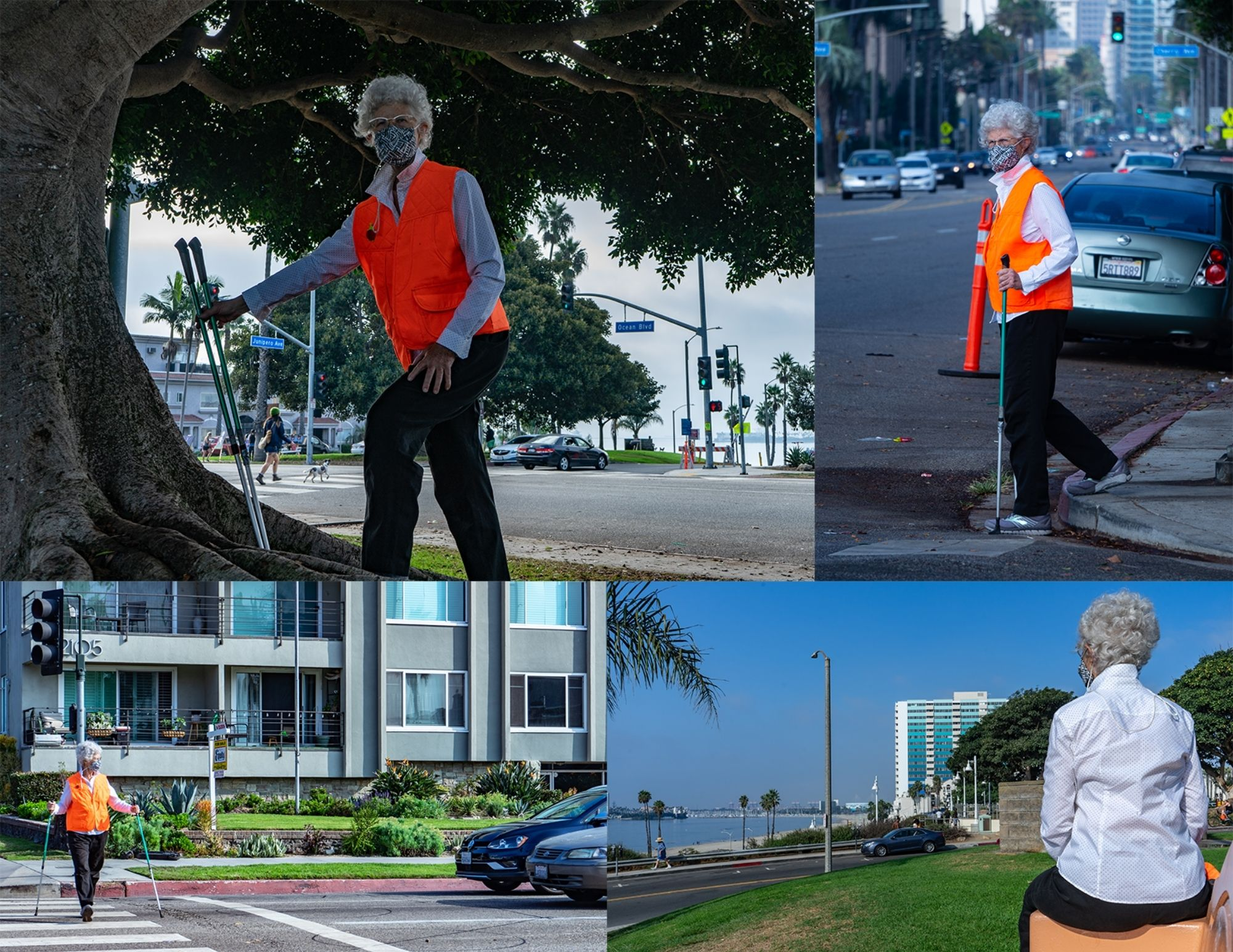 walking safely is part of a healthy lifestyle